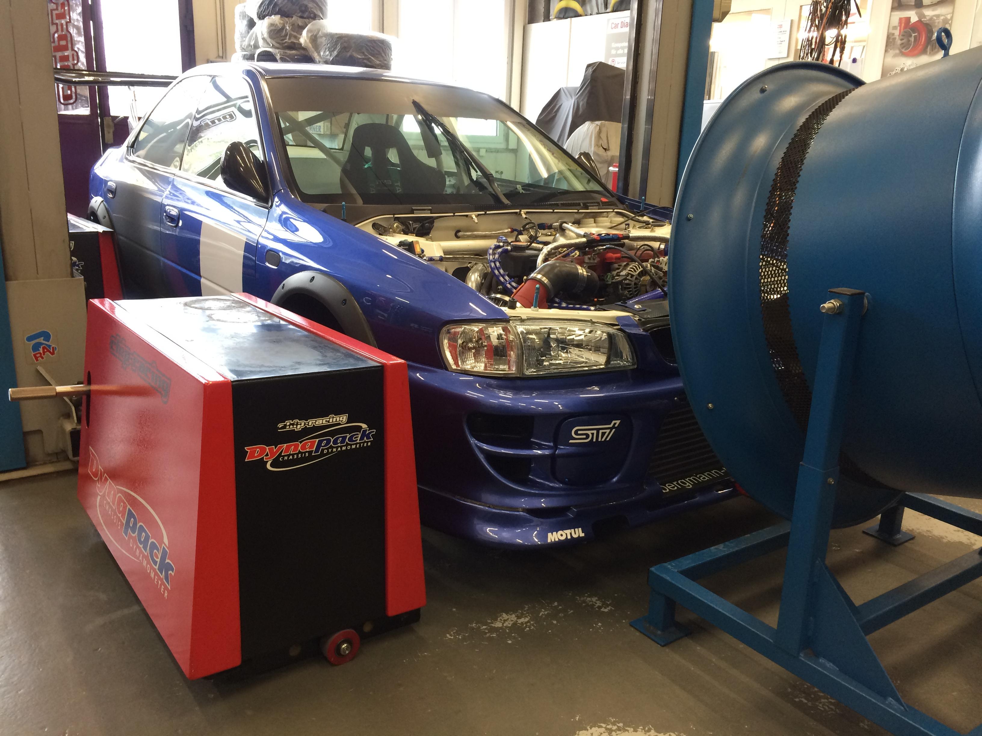 Subaru GT Cupfahrzeug Dynapack