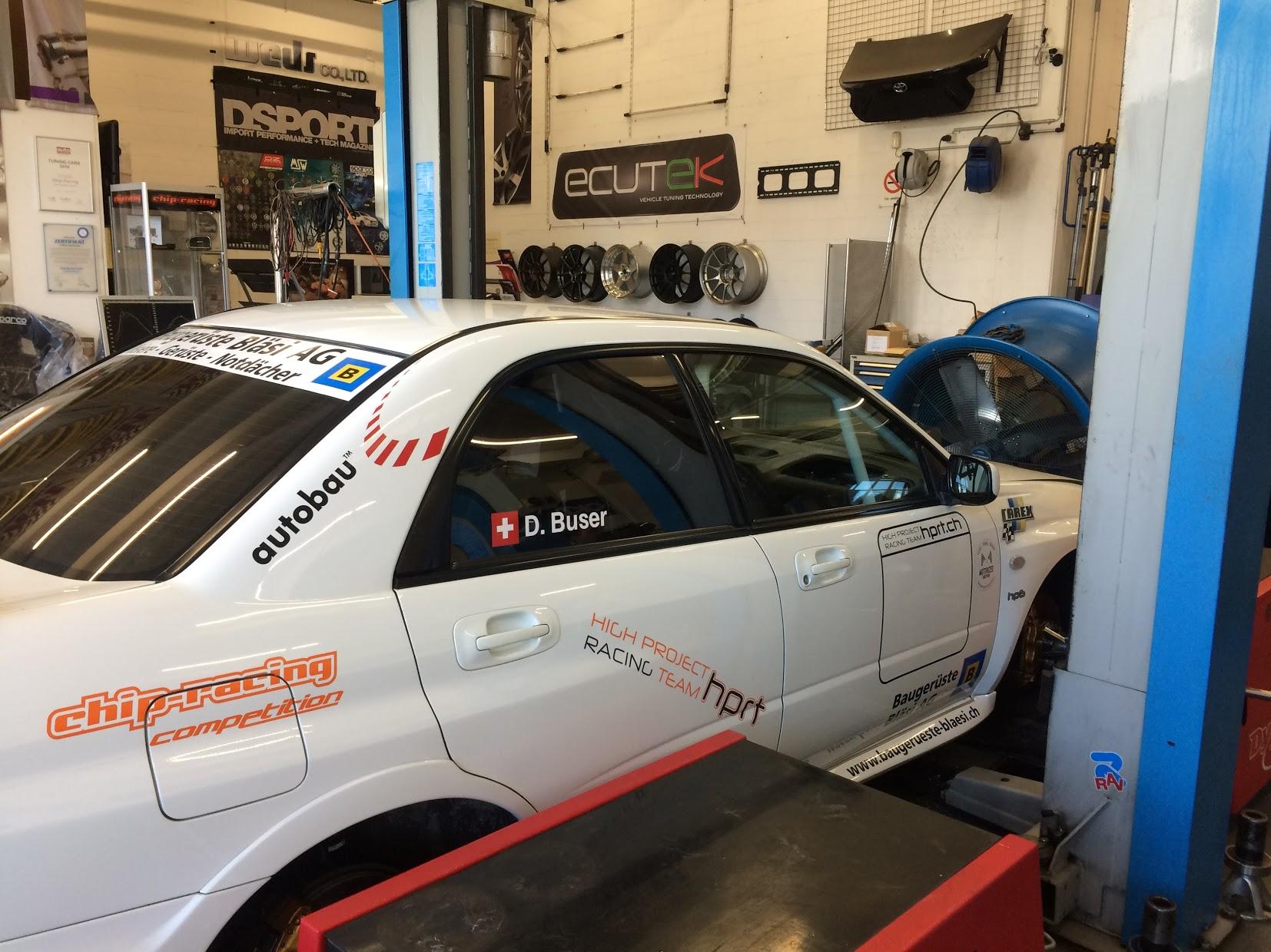 Subaru STI Dani Buser Dynapack