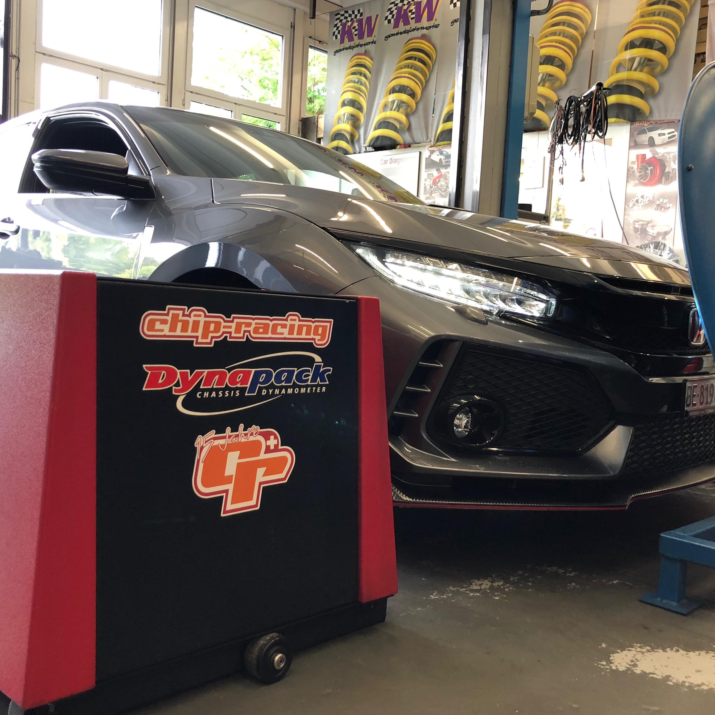 Honda Civic FK2 CRTEK on Dyno