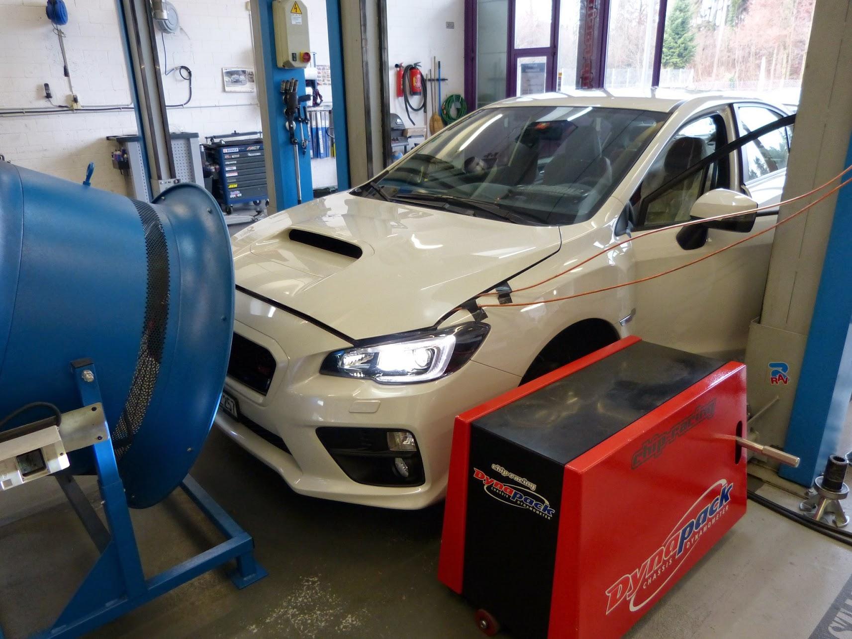 Ecutek Tuning Subaru STI Chip-Racing