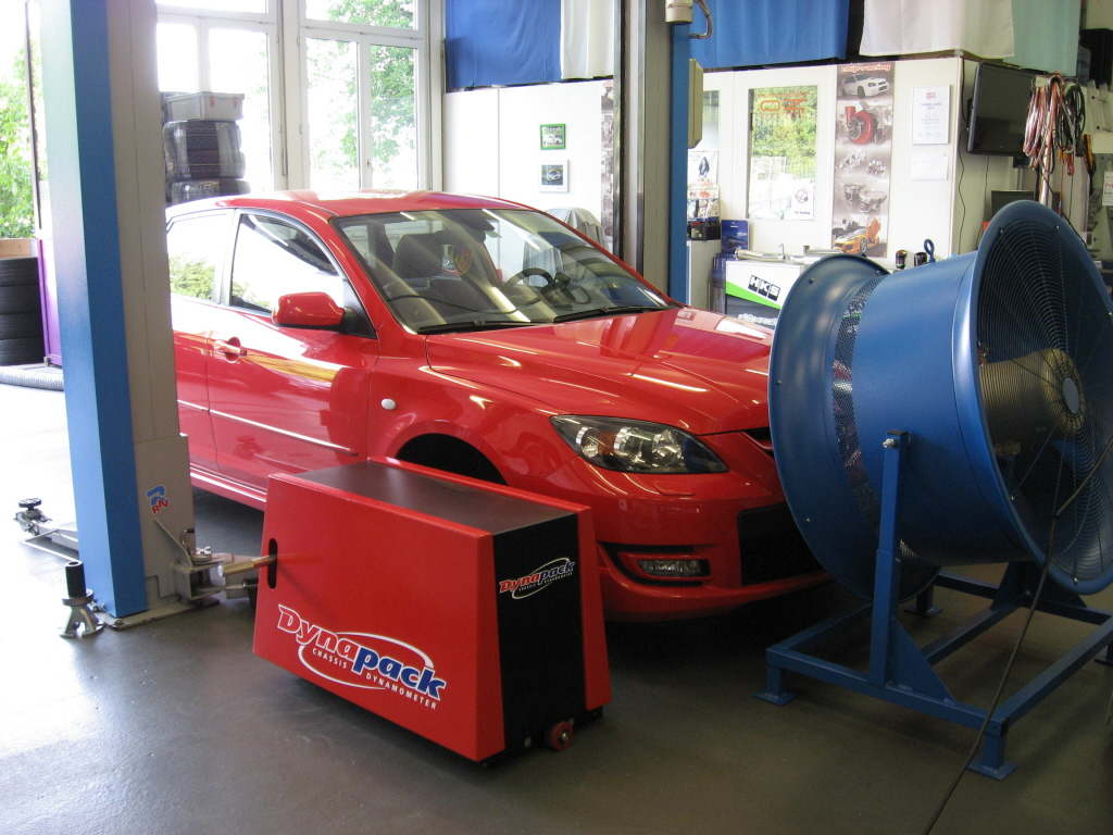 Chip-Racing Mazda 3 MPS ECUTEK Tuning Dynapack
