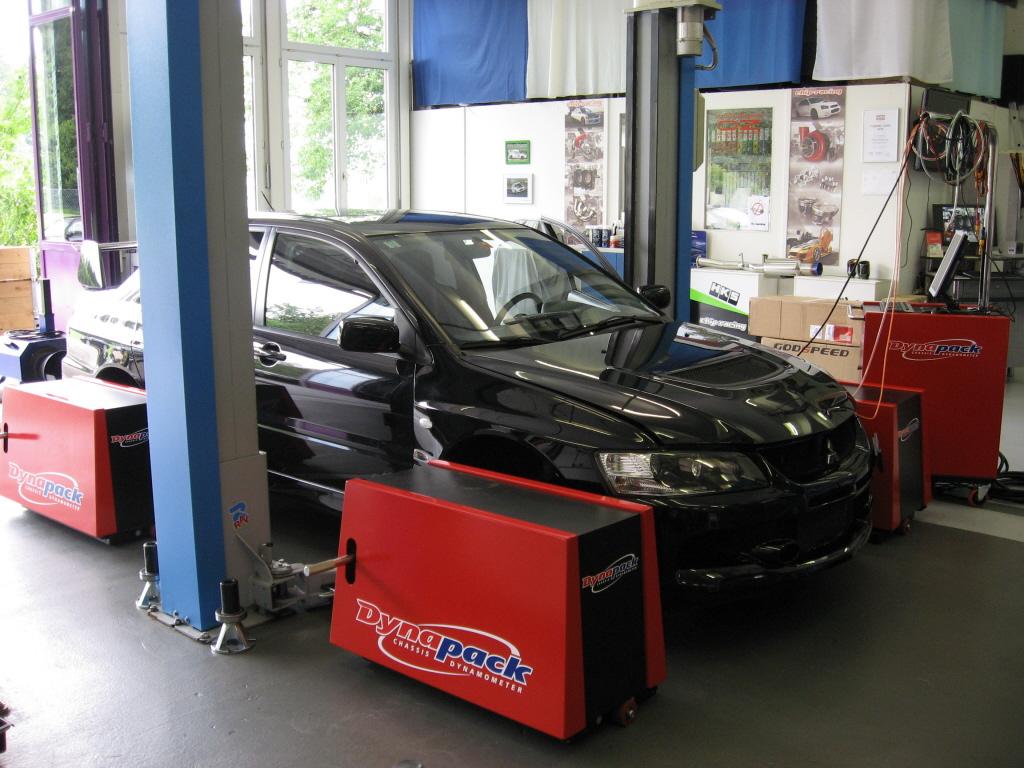 Chip-Racing Mitsubishi EVO 9 ECUTEKTuning Dynpack