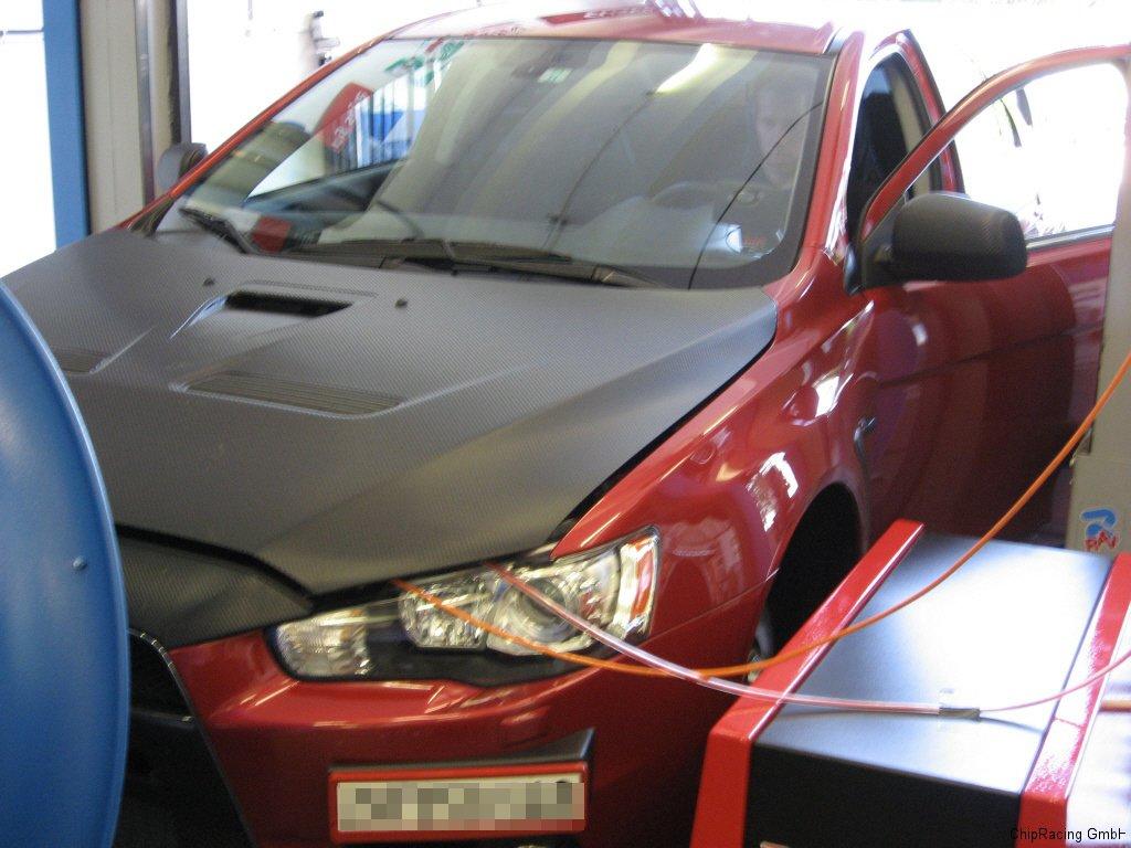 Chip-Racing Mitsubishi EVO X Tuning ECUTEK Dynapack