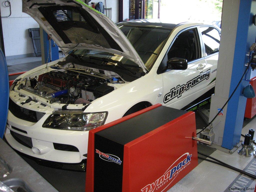 Chip-Racing Mitsubishi EVO 9 CR500 ECUTEK Tuning Dynapack