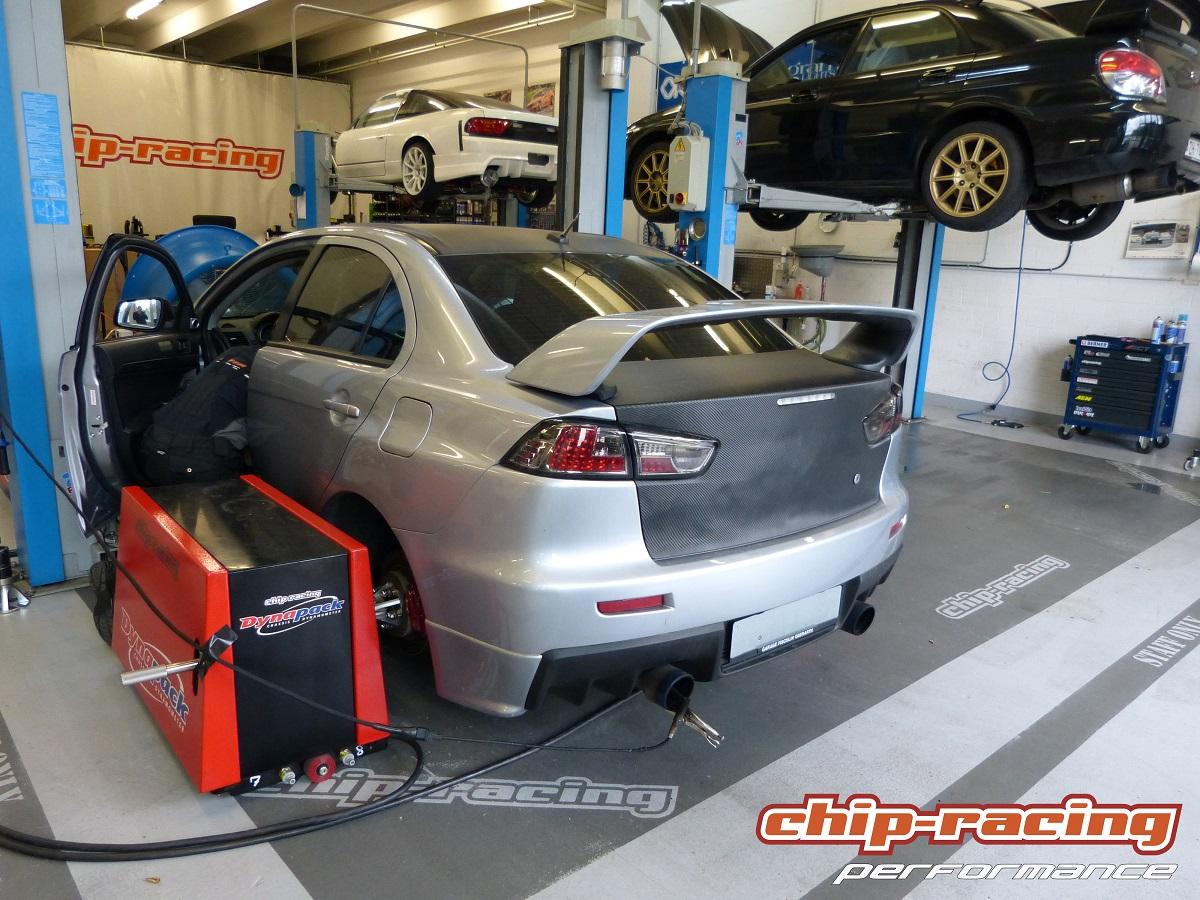 Chip-Racing Mitsubishi Evo X Tuning