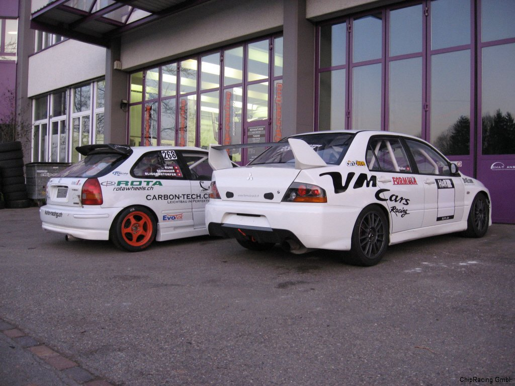 Chip-Racing Honda Civic K20A Mitsubishi EVO 9 Tuning