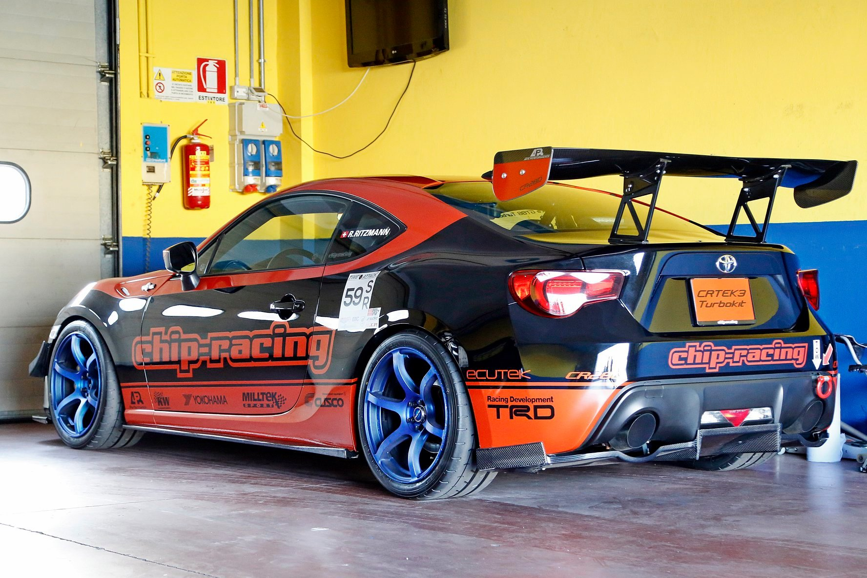 Time Attack Italia Chip-Racing GT86 Turbo 10