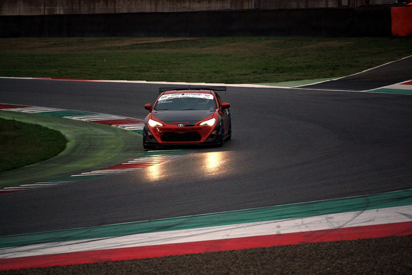 MUGELLO Time Attack Italia GT86