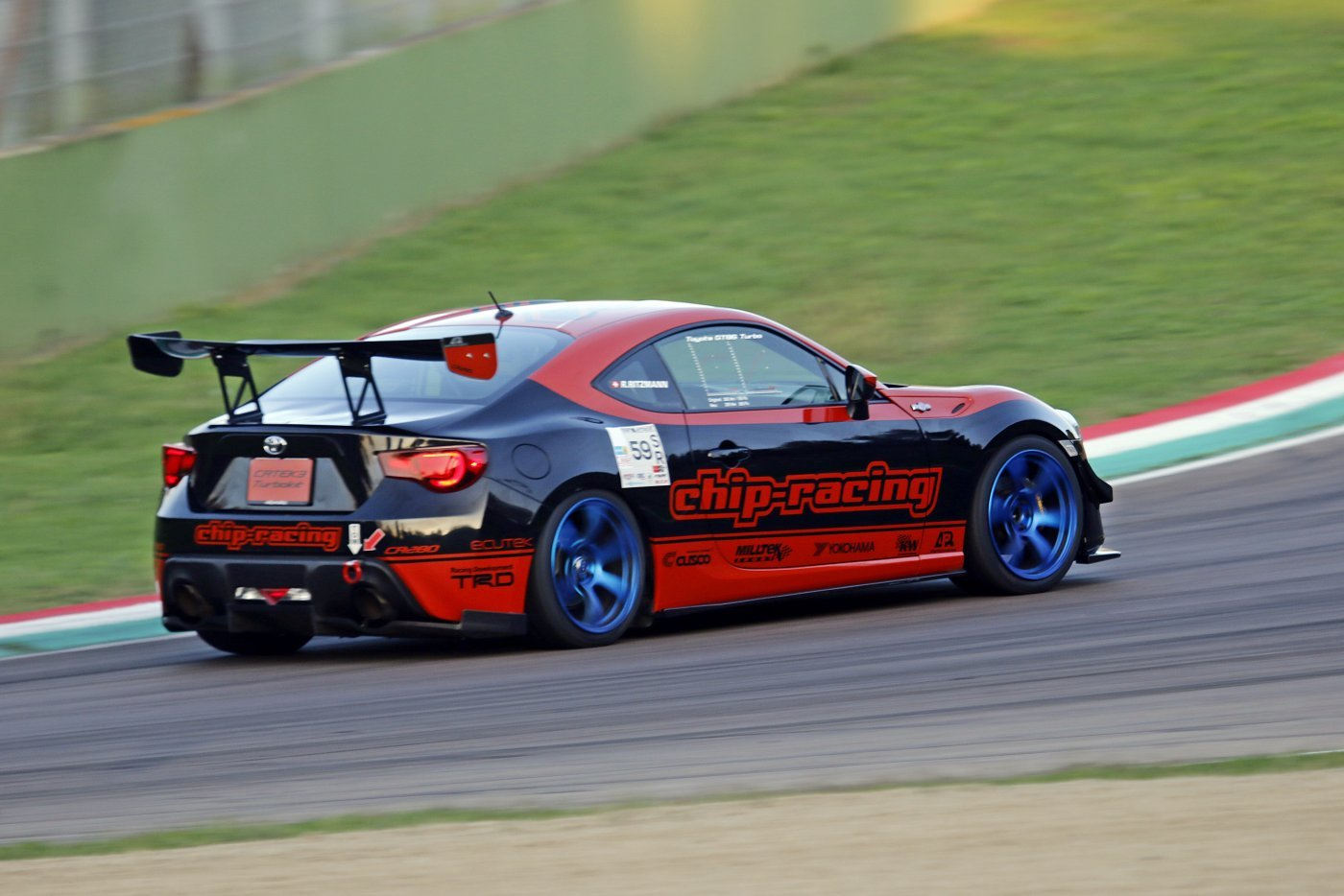 Chip-Racing GT86 Time Attack Imola 2019