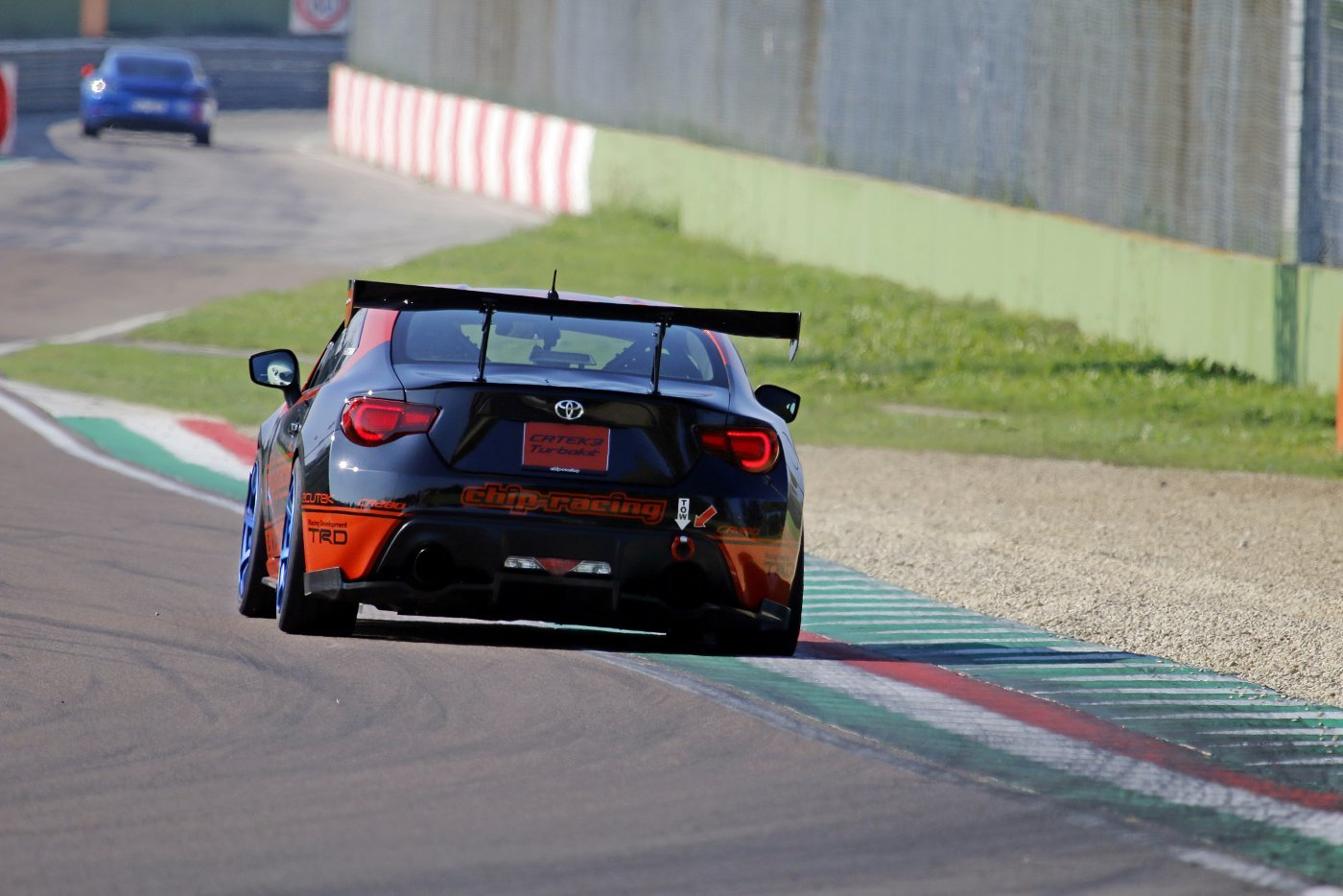 Time Attack Imola 2019 Chip-Racing GT86 Turbo