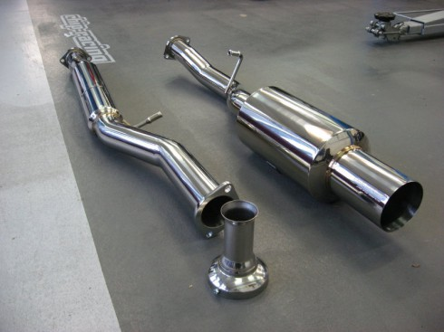 Chip-Racing Performance Exhaust Systems for SUBARU / Chip-Racing Performance Auspuffsysteme für SUBARU.