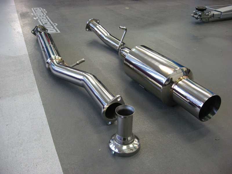 Chip-Racing Performance Exhaust System for SUBARU / Chip ...