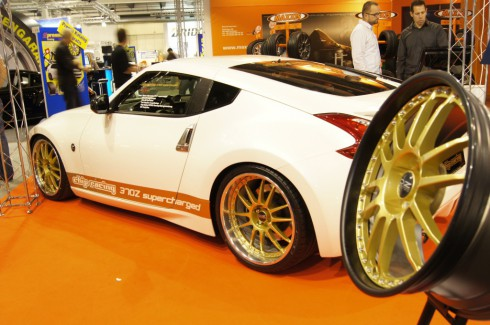 Auto Zürich 2011 Chip-Racing Nissan 370Z Supercharged