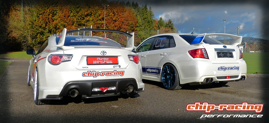 Chip-Racing Tuning: Subaru WRX STI CR370 und Toyota GT86 ...