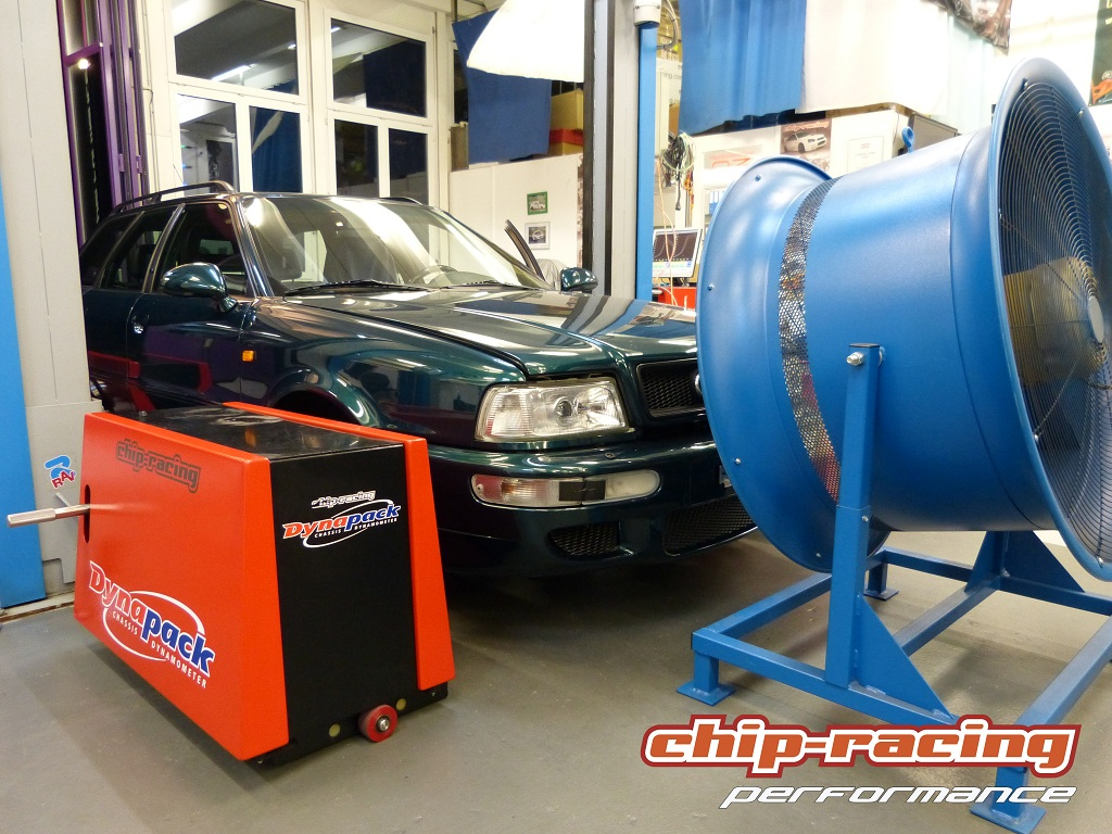 Chip-Racing Audi RS2 Tuning: Garrett GTX3076R