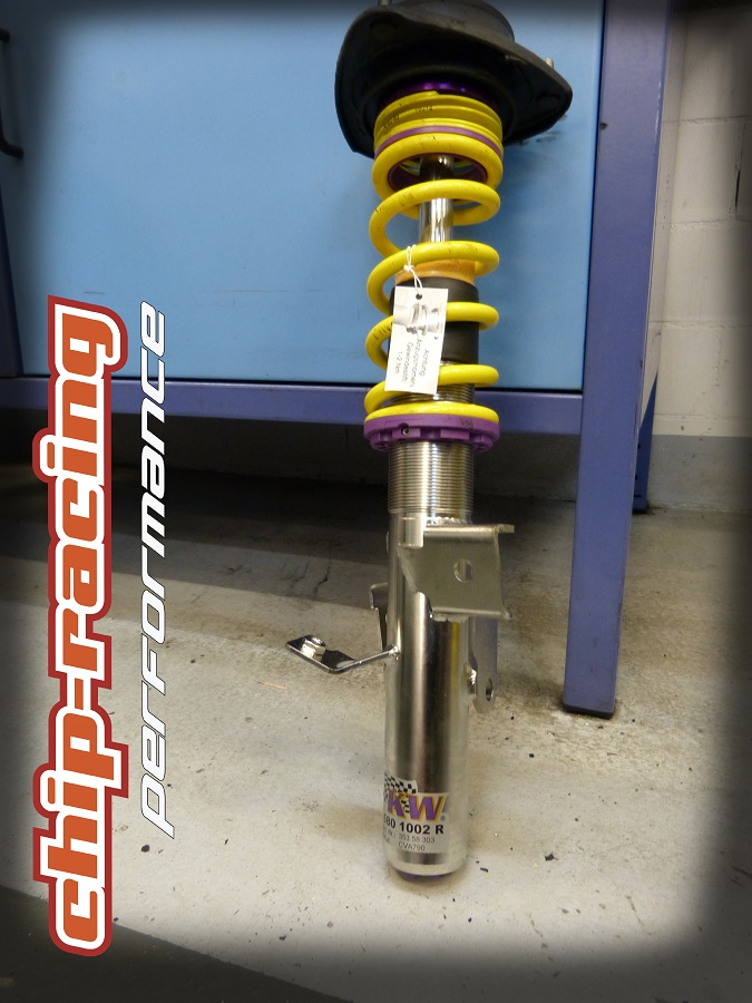 Chip-Racing GT86 Turbo: KW-Automotive Clubsport Coilover