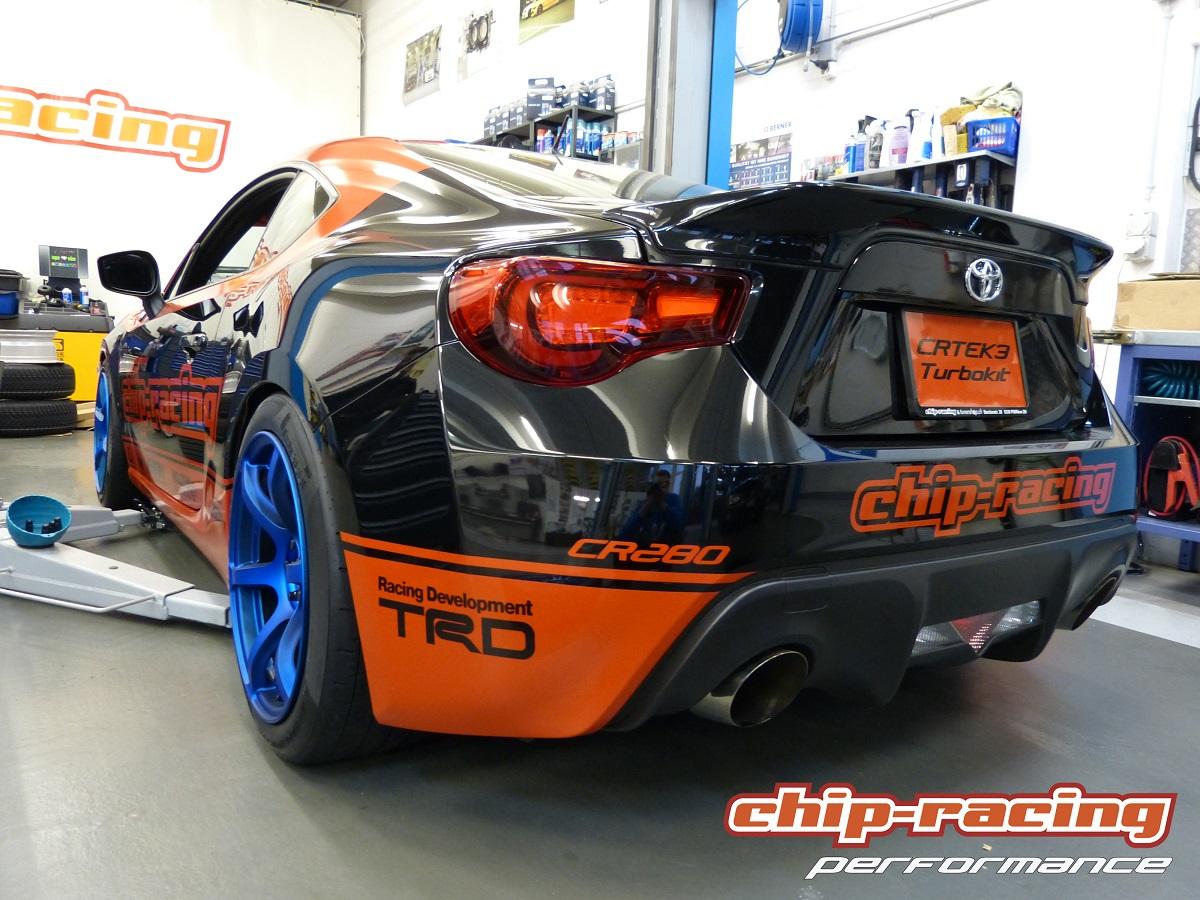 Toyota GT86 Tuning: Milltek Catback ExhaustMillte