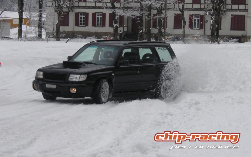 Schnee und E85: bis anhin nicht möglich!