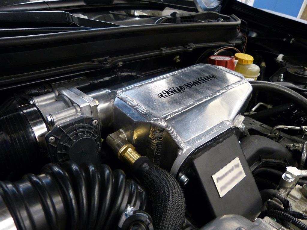 GT86 Intercooler: Water to Air Intercooler GT86 tuning