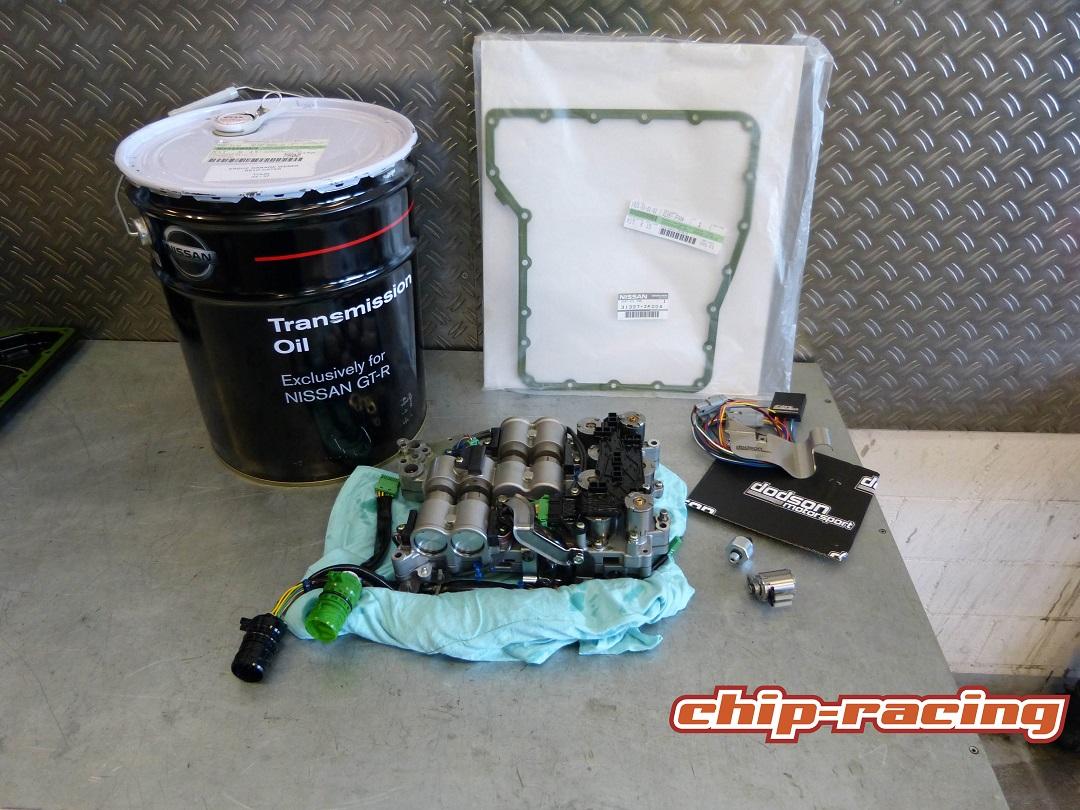 Nissan GTR Getriebe Revision