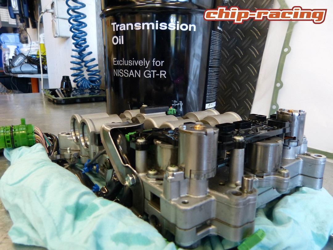 Nissan GTR mechatronic