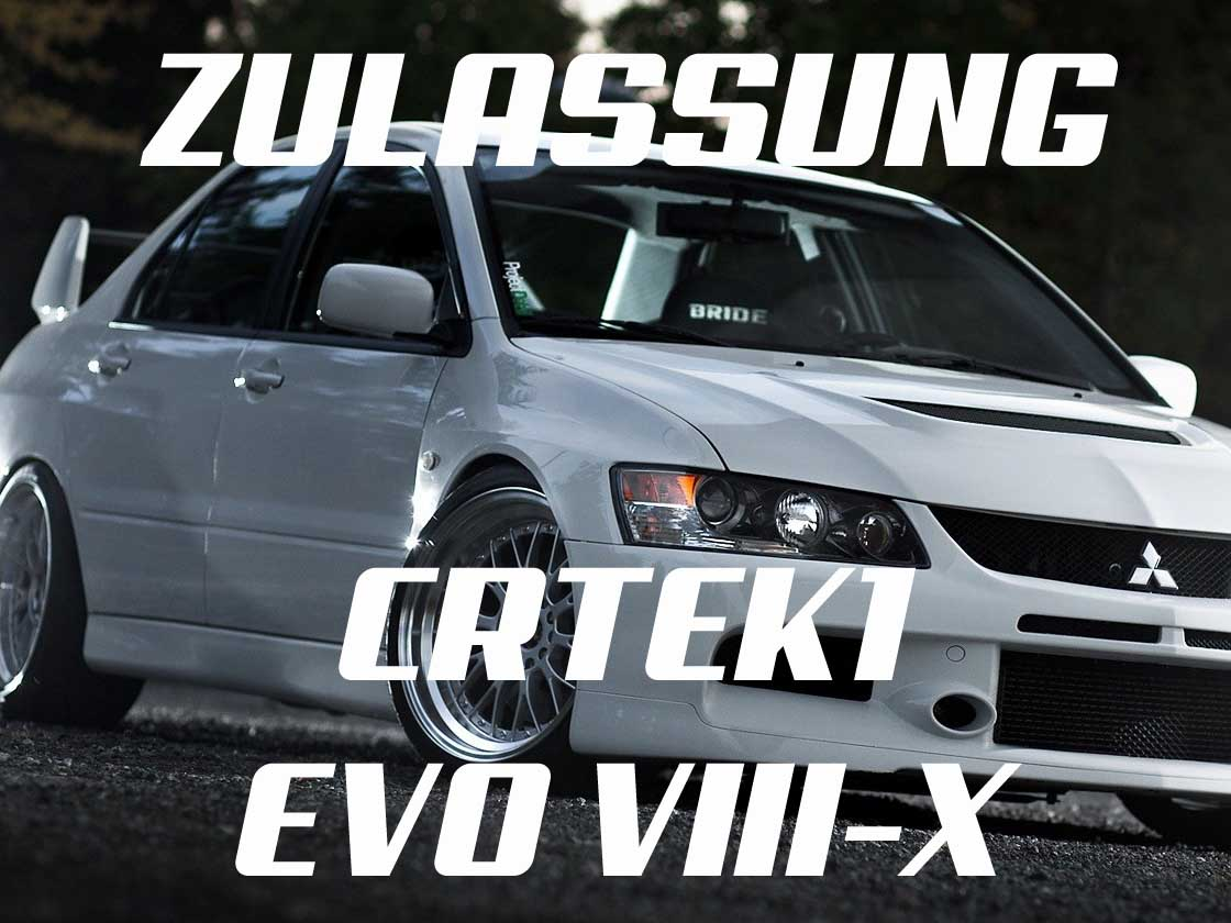 CRTEK Mitsubishi EVO legal